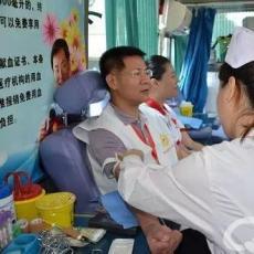 海南红十字会常务副会长周瑾第68个红十字日无偿献血