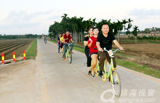 开展冬季龙寿洋骑行  嘉积中心校教师锻炼好身体为党工作