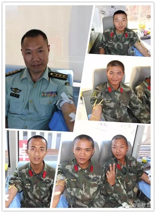 海南海警总队海警训练基地官兵2015浓情献热血