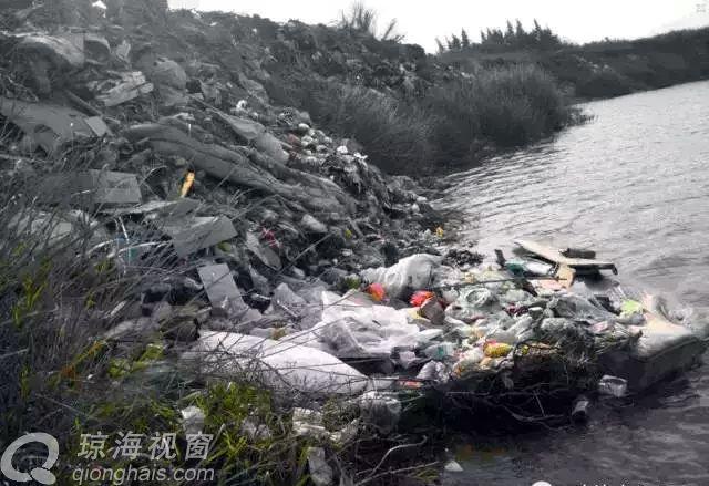 网曝:别让万泉河成为琼海的臭水沟(图)