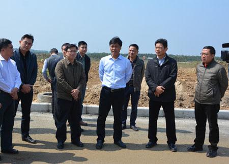 符宣朝检查博鳌乐城国际医疗旅游先行区项目建设进展情况