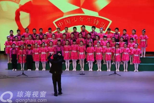 琼海举行少儿合唱团建团一周年师生音乐会