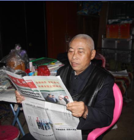 琼海故事:卢家篆从学雷锋标兵到义务宣传员