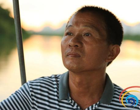 琼海五旬老渔民甘当义务救生员近十年救四五十人