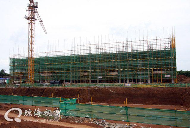 琼海:海南东部精神卫生中心在加紧施工建设当中(图文)