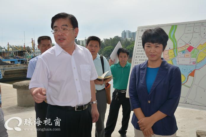 副省长陆俊华到我市调研指导重点项目建设