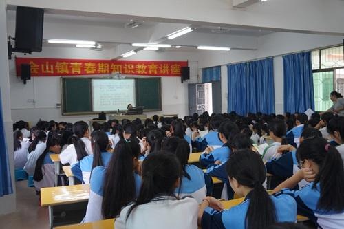 琼海会山镇:青春期教育知识讲座