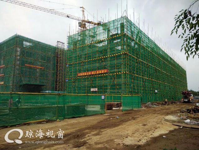 海南东部精神卫生中心(东红分院)工程进展顺利
