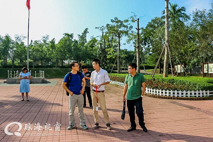 对日外宣期刊《人民中国杂志社》来我市采访
