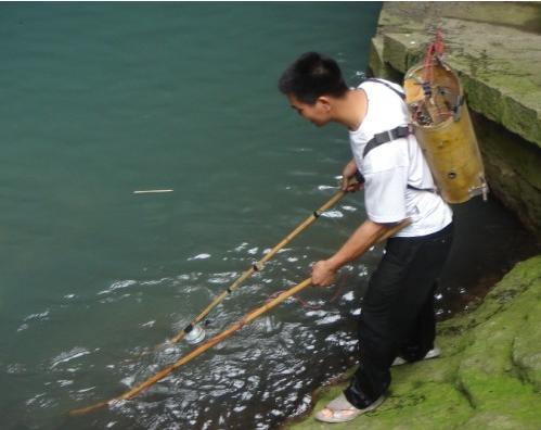 琼海加强渔业资源保护 清明节前后抓扣两起电鱼事件