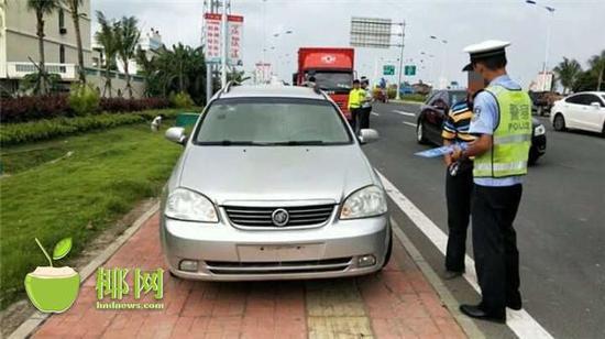 重罚!琼海一司机竟驾驶无牌车上路 机动车遭扣留