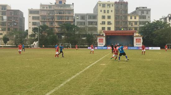 """""""硕克杯""""2017海南省男子足球超级联赛第二轮完赛"""