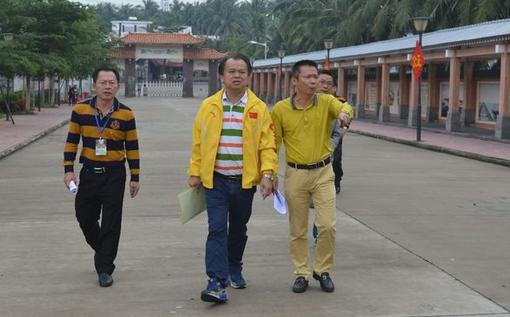 潭门镇中心学校迎接市未成年人思想道德建设工作检查
