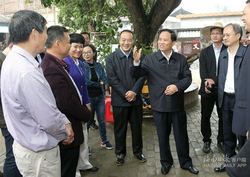 刘赐贵:把博鳌小镇打造成海南实施乡村振兴战略的样板