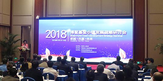 2018首届博鳌基金小镇发展战略研讨会在琼海召开