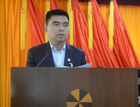 中国共产党石壁镇第十四届代表大会第二次会议顺利召开