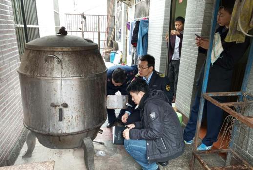 石壁镇开展烤炉安全专项检查工作