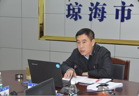 琼海公安组织传达贯彻党的十九届二中全会精神