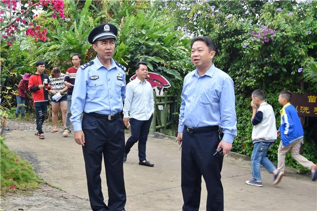 琼海公安圆满完成第六届琼海(会山)苗族传统文化节活动安全保卫工作