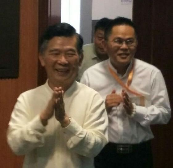 琼海市商界国学会2018年开学典礼暨蓝态幸福文化课堂开班仪式在广州番禺举行