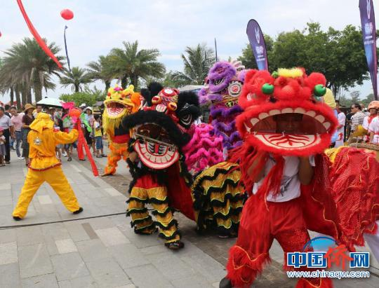 中国侨网侨乡琼海博鳌举行2018端阳旅游文化节。 张茜翼 摄