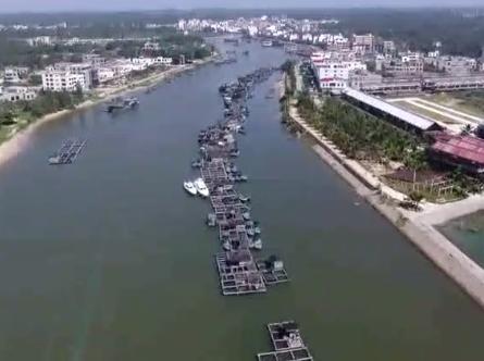 航拍丨2017海南琼海·潭门赶海节