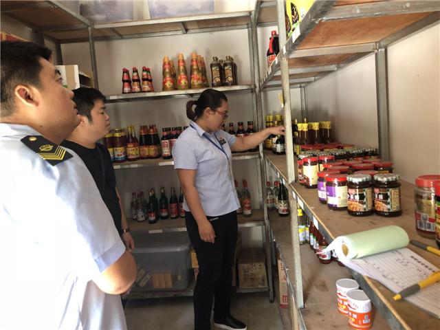 潭门食药监所开展国庆节前食品安全检查专项行动