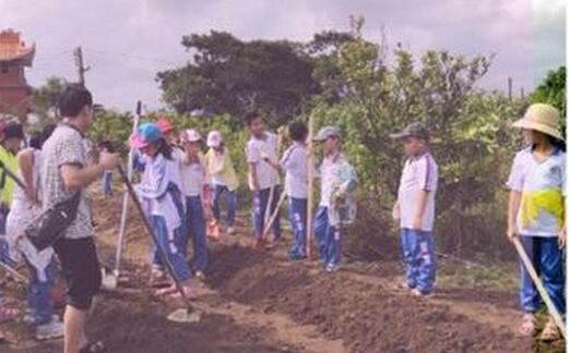 【科普琼海】 创新体验 玩转科学,琼海市科协联合市第一小等举行农耕体验活动