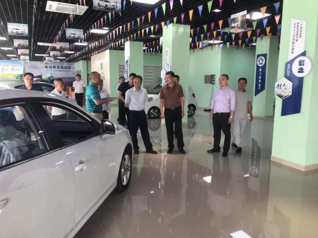 省工信厅副厅长林敏调研琼海新能源汽车和中小企业发展情况