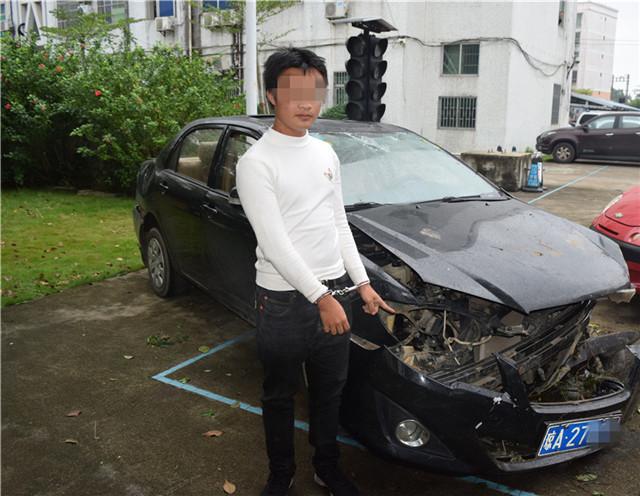 高速琼海段一男子持假证出车祸,结果惨了......