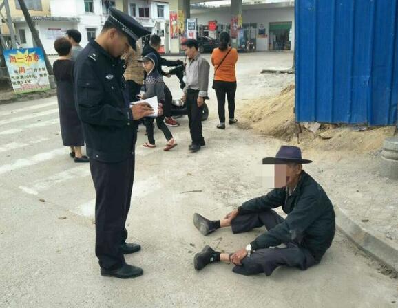 春节假期坚守岗位,热心为民服务获赞——中原所路管员及时救助一名摔倒老人