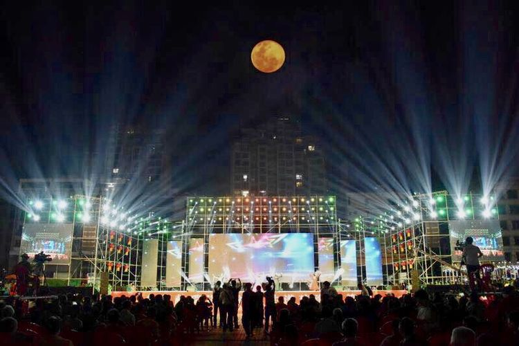 十五元宵十六闹,2019琼海超级月亮、体育大拜年元宵节主会场实况来了