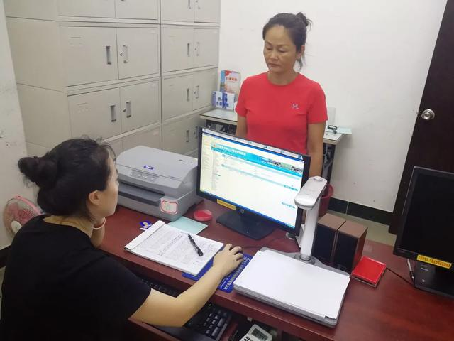 暖心护考,琼海城北派出所连夜帮助一名考生打印临时身份证