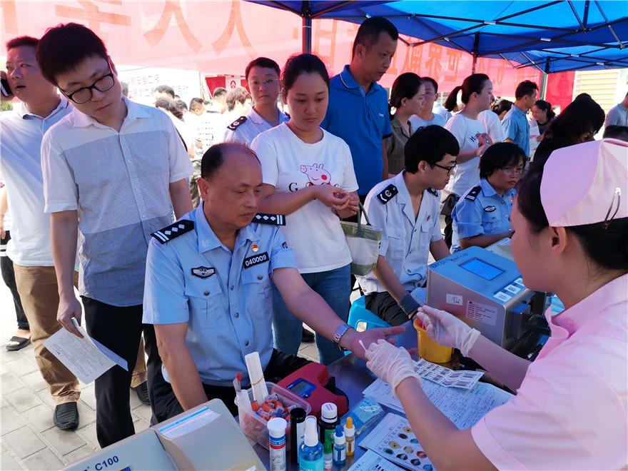 人民警察为人民 无偿献血铸忠诚——琼海公安组织开展无偿献血活动