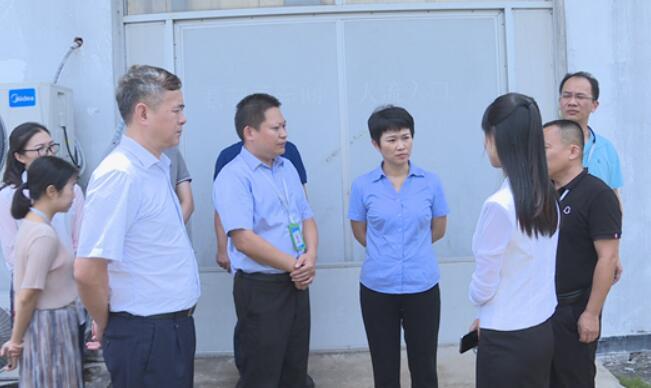 琼海市委书记何琼妹到海南斯达制药有限公司调研
