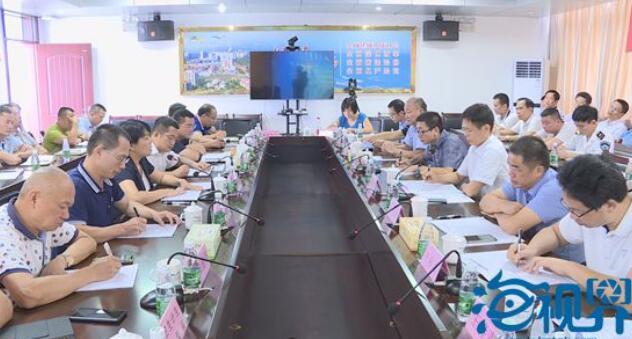 博鳌镇创建国家卫生乡镇省级技术评估汇报会召开