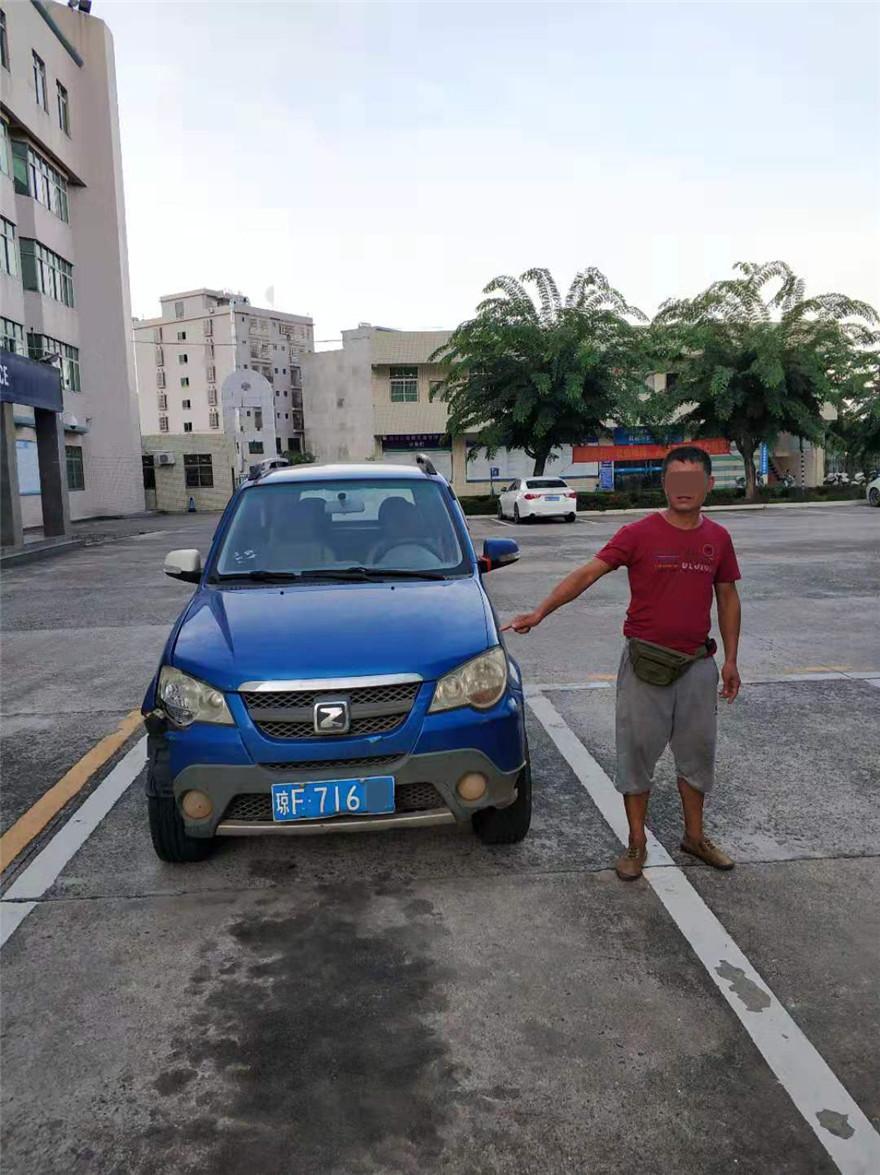 琼海:一男子准驾不符还强行冲卡换来行政拘留15日