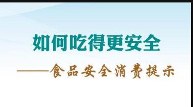 海南省食品安全委员会办公室食品安全消费提示