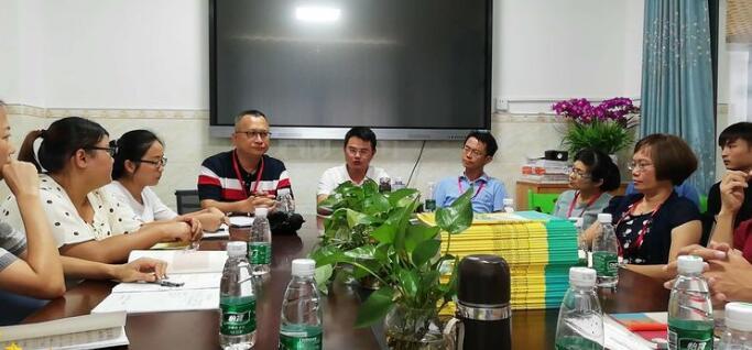 学习名校经验 助力新教师成长,长坡中学组团到海桂学校学习交流