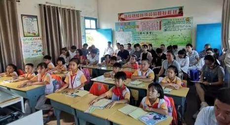 潭门镇中心学校举行三年级数学科组教研活动