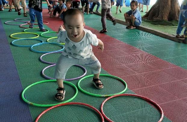 长江幼儿园一周体智能课,让孩子在玩中学