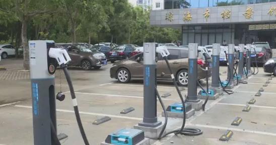 琼海今年将完成2448个电动汽车充电桩建设