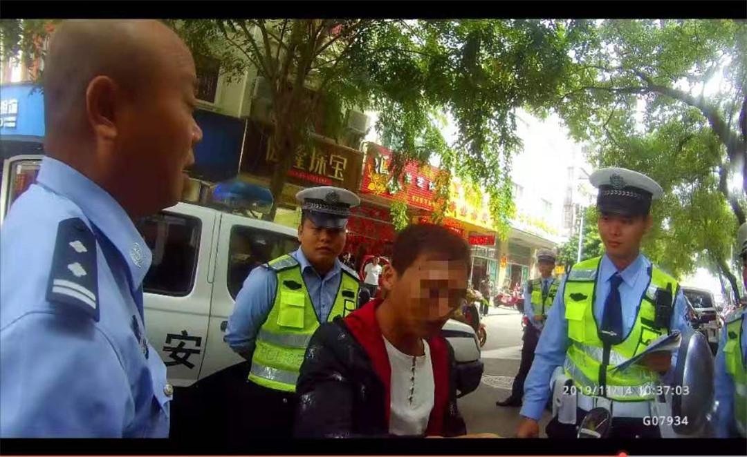 琼海:无理取闹阻碍执法 一男子被依法行拘