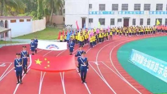 长坡中学举办第37届体育运动会