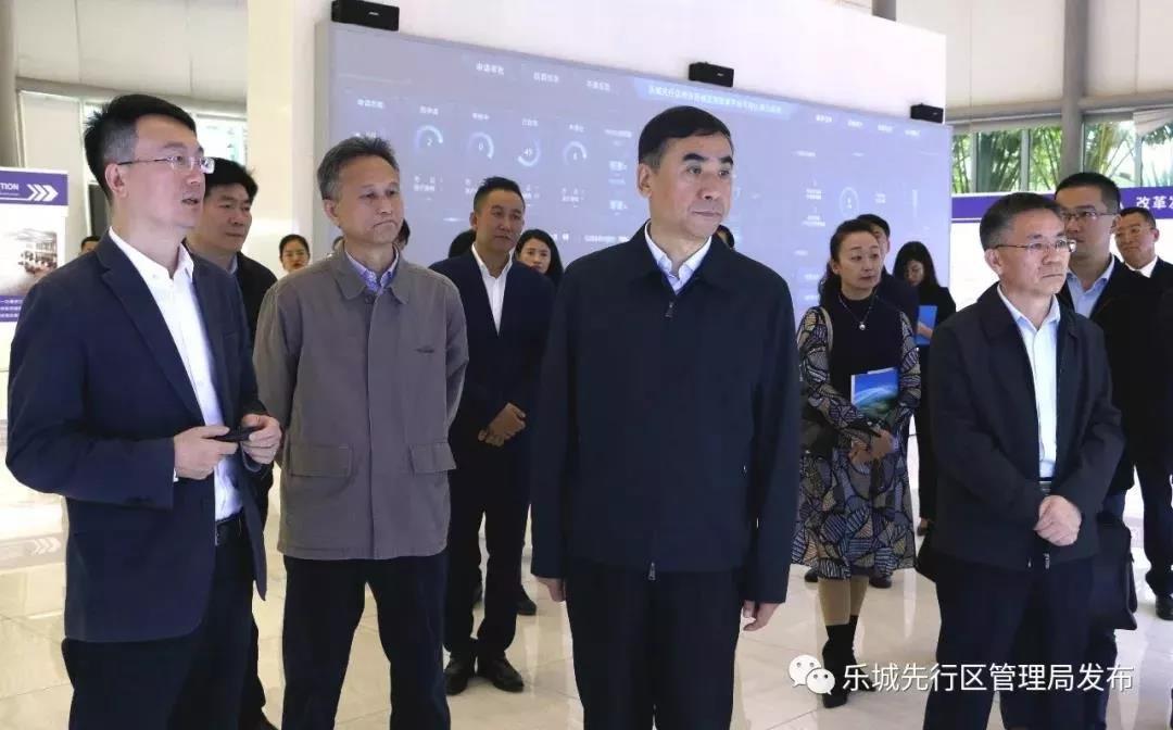 国家卫健委副主任李斌一行赴乐城调研