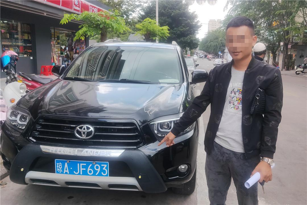 琼海交警行政拘留一名无证驾驶交通违法行为人