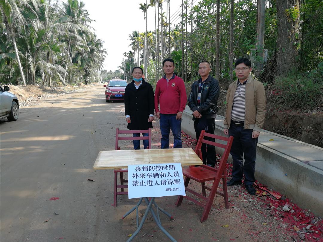 万泉镇西河村乡村振兴工作队在疫情防控第一线 践行初心使命