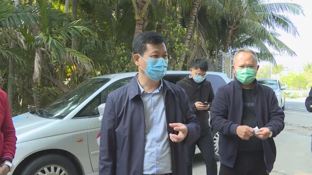符平检查指导新型冠状病毒感染的肺炎疫情防控工作