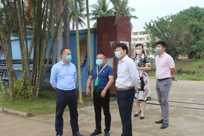 陈国文副市长到企业检查指导复产复工情况