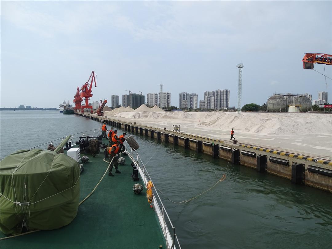 """海南琼海海警局加强海上巡逻监管 确保""""两会""""期间辖区治安稳定"""